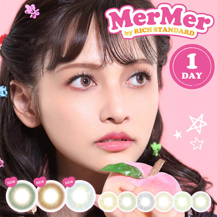 MerMer by RICH STANDARD -メルメル バイ リッチスタンダード/MerMer by RICH STANDARD |1DAY ワンデー NEW
