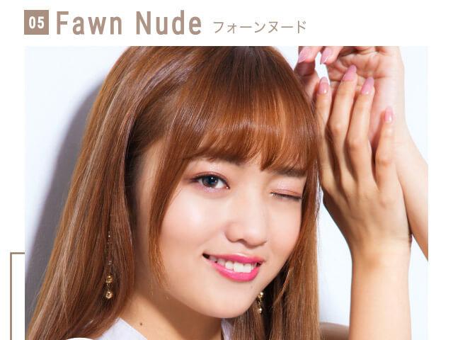 ねおイメージモデルカラコン SHERIQUE-シェリーク|05 Fawn Nude-フォーンヌード